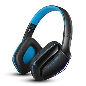 JXH Bluetooth Kopfhörer drahtloser Kopfhörer, faltbar Gaming Headset V4.1 mit Pads Mic Noise Isolation, für PS4 PC Mac…