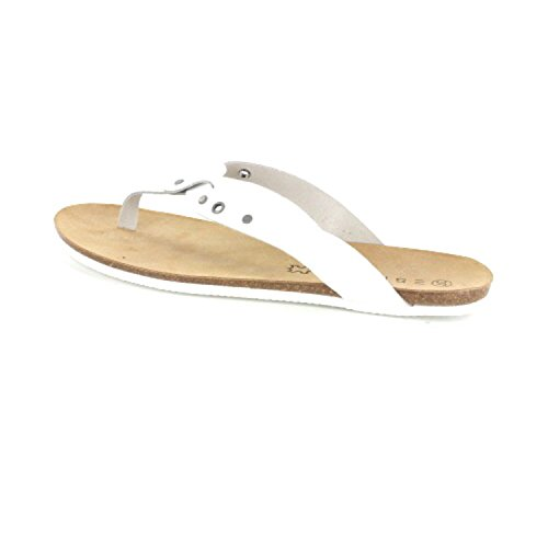ESPRIT Kendra Thongs 055EK1W002100 femmes Sandales Blanc