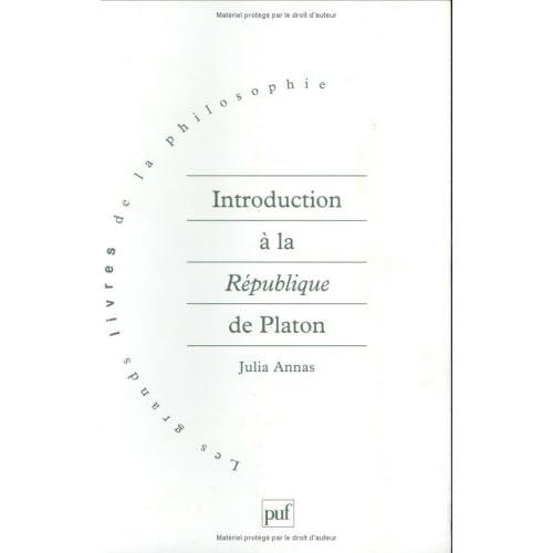 Introduction à la 'République' de Platon