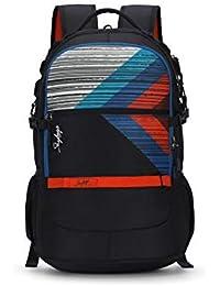 Skybags Herios Plus 01 33 Ltrs Black Laptop Backpack (HERIOS Plus 01)