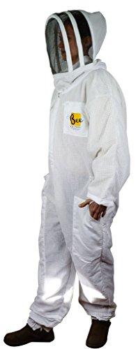 Bee Equipment Ltd Vented Clôture à combinaison Apiculteur avec voile L