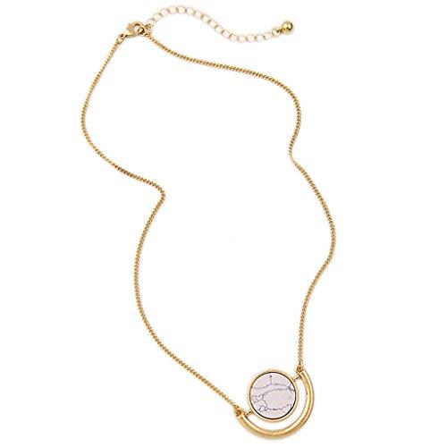 femmes-collier-pendentif-de-mode-pendentif-rond-motif-de-marbre-dore-blanc