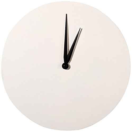Artemio Horloge Rond 20 cm à décorer Blanc