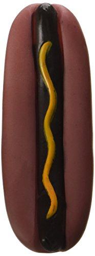 Artikelbild: 5' Vinyl Hot Dog with Squeaker Ethical Pet Hundespielzeug Hot Dog, mit Quietsch-Element, 13 cm