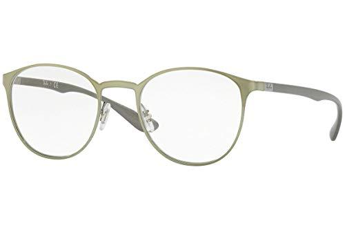 Ray-Ban Unisex-Erwachsene Brillengestell RX6355 Schwarz (Negro) 47