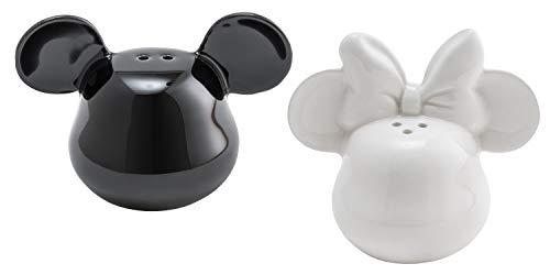 Joy Toy 62146 Mickey Mouse 3D Keramik SALZ-UND PFEFFERSTREUER SCHWARZ UND Weiss
