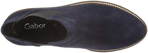 Gabor Shoes Comfort Sport, Stivali Chelsea Donna Blu (ocean S.S/C)
