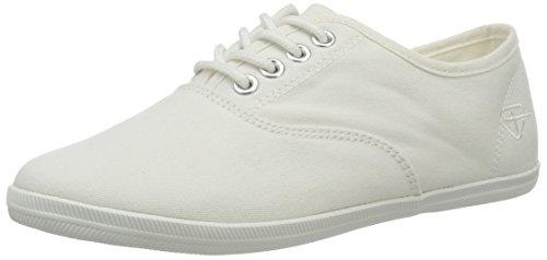 Tamaris Damen 23609 Sneaker, Weiß (White 100), 38 EU