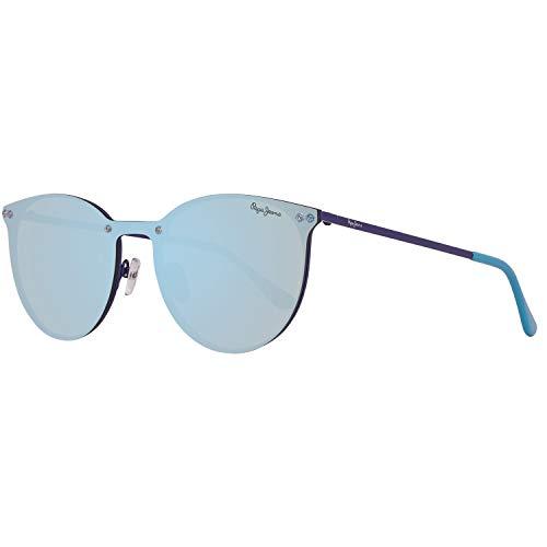 Pepe Jeans Damen PJ5134C4137 Sonnenbrille, Blau (Blue), 137