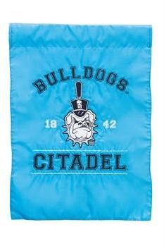 Zitadelle Garten Team Aufnäher, Flagge, Burg Bulldogs 31,8x 45,7cm