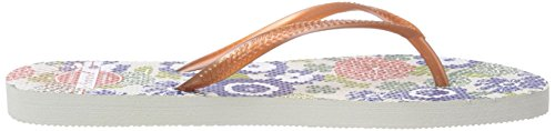 Levi's Tolay Print, Damen Sandalen Orange (79)