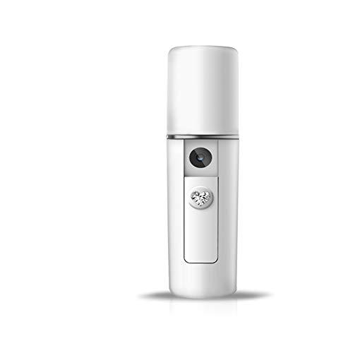 Auflade-Gesichtsbefeuchter-Gesichtsdampfer des kühlen Nebelschönheitssprüher-Nanoions,White