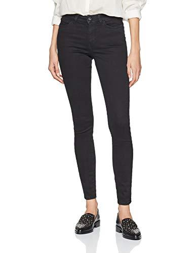 TOM TAILOR Denim für Frauen Jeanshosen NELA Extra Skinny Jeans Black Denim, 31/34 Womens Black Denim