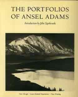 Ansel Adams-portfolio (The Portfolios of Ansel Adams by Ansel Adams (1981) Hardcover)