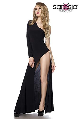 Extravagantes One-Shoulder Kleid mit sexy Beinausschnitt S