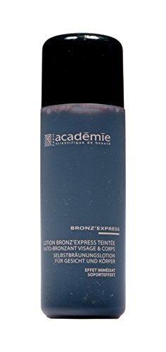Academie bronz'express black edition lozione auto-abbronzante, 30 ml