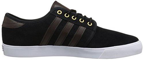 Adidas Seeley Textile Skateschuh CBlack/DBrown/FtwWht Noiess/MarFon/FtwBla
