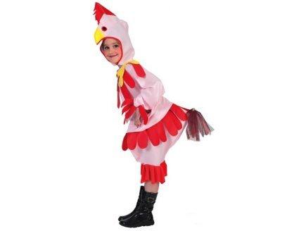 Imagen de disfraz de gallina para niña  7  9 años