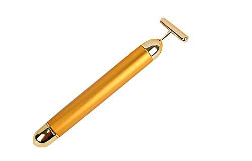 EA-Miao 24 Karat Gold Beauty Bar Gesichts Roller Massager Vibration Hautpflege Massager Anti-Aging Straffen Haut Werkzeuge -