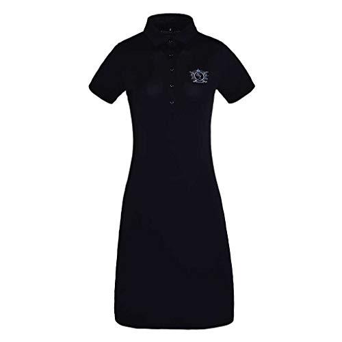 Kingsland Christine Polo Dress, Navy, L