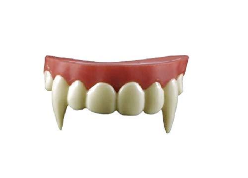 Special FX Vampir-Zähne mit Thermoplastik Fangzähne Eckzähne Gebiss Dracula Blutsauger Fledermaus Nosferatu Wolf Dämon - Nosferatu Kostüm Zähne