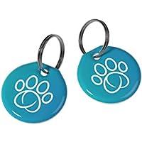 Trixie Paquete de 2 Placas Sureflap de RFID (identificación por radiofrecuencia) para Collar