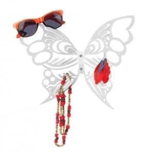 Cadeau Porte bijoux mural Papillon blanc