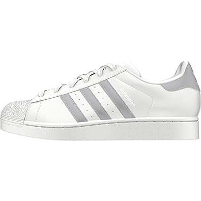 timeless design ff36b 8d312 adidas Superstar W, Scarpe da Fitness Donna, Bianco (Blanco 000), 36
