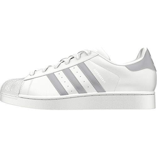 adidas Damen Superstar W Fitnessschuhe, Weiß (Blanco 000), 37 1/3 EU -