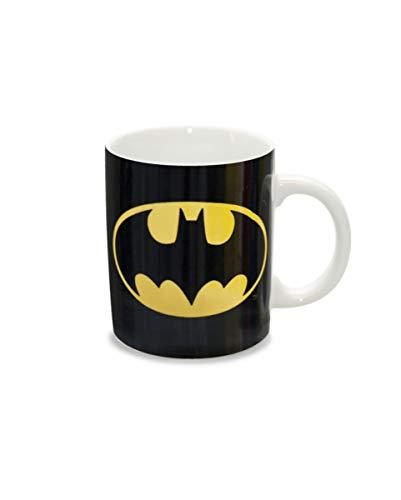 Horror-Shop Kaffeetasse Batman Logo als Geschenk für einen DC Comic Fan (Kaffee Tasse Kostüm)