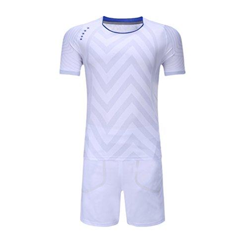 Kuncg Spring-Casual Badminton Tragen Herren und Jungen Schnell Trocknende Benutzerdefinierte Sport Anzug Weiß L