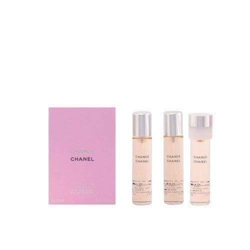 Chanel, Chance - Eau de Toilette, Donna, Confezione da 3 x 20 ml