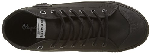 Pepe Jeans Industry Hydro, Baskets Basses Homme Noir (999Black)