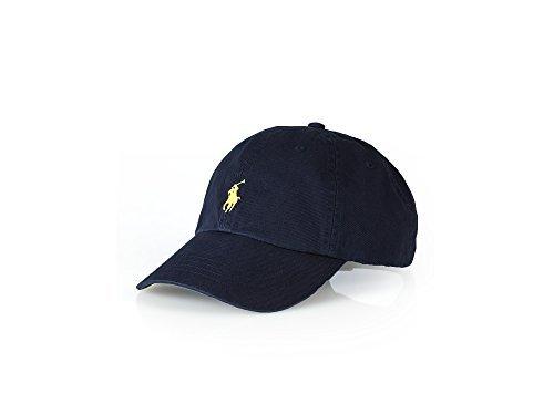 Polo Ralph Lauren Männer/Frauen Gap Pferd Logo/einstellbare Marine Blau/Gelb (Ralph Lauren Pferd)