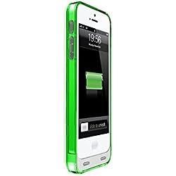 MOTA AP5-30G Coque Batterie prolongée pour iPhone 5/5S/SE Vert