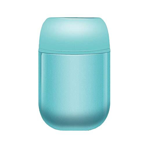 GWFVA Fiaschetta per alimenti in Acciaio inossidabile Thermos 520ML per Bambini, contenitori per alimenti isolati a tenuta stagna con cucchiaio in Acciaio pieghevole, isolati 24 Ore (Colore: BLU)