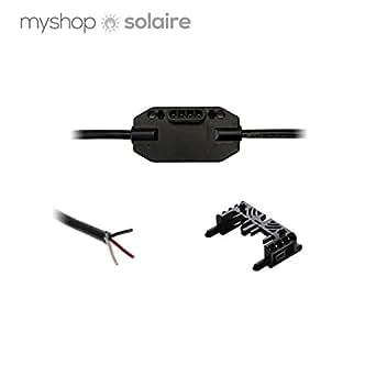 Câble engage - monophasé - pour micro-onduleur - paysage