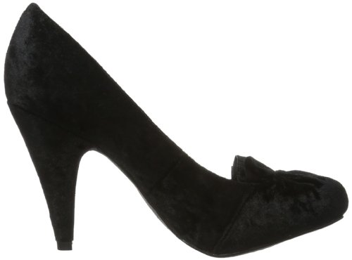 Rocket Dog Oscar Pumps ROD0099 Damen Pumps Schwarz (crushed velvet black RO161)