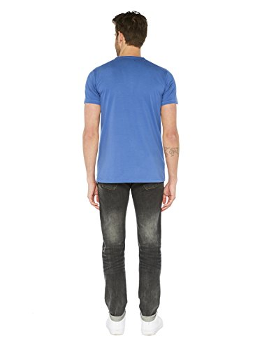 Colorado Denim Herren T-Shirts Eino Blau (indigo Blue 6079)