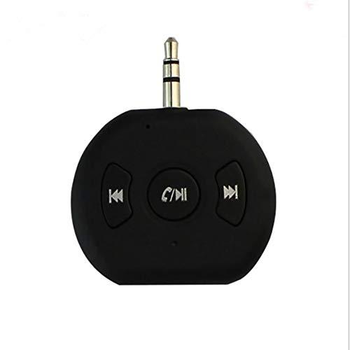 Monllack Empfänger Mini-Kfz-Zusatzadapter Freisprech-Kfz-Einbausätze Tragbarer, kabelloser Musikadapter für das Auto