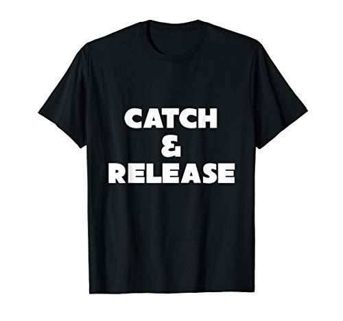 Karpfen Zubehör Angelbekleidung T-Shirt Catch and Release -