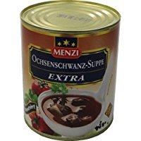 Menzi Ochsenschwanz-Suppe Extra, 1 x 800 ml Dose