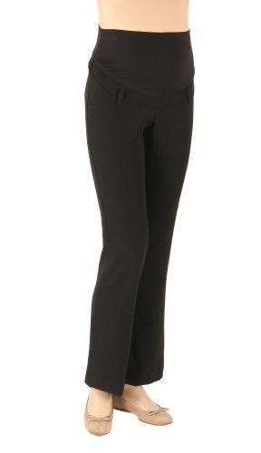 Christoff - Pantalon spécial grossesse - Femme braun/ melange 46 noir