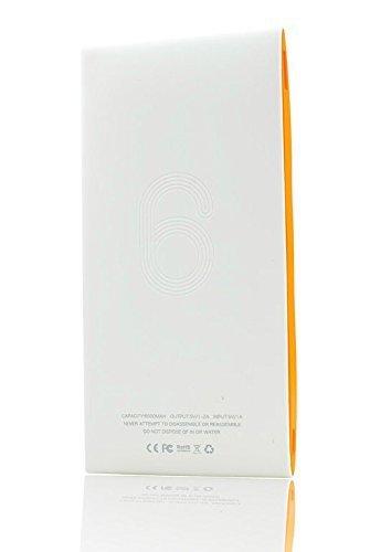 Cargador Batería Externo imco alto capacidad 6000mAh ultra-slim Power Bank Batería Emergencia para iPhone iPad Samsung Smartphone Tablets y Bluetooth Speaker