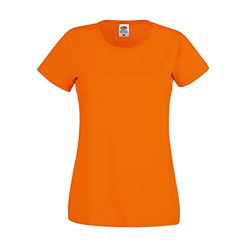 Fruit of the Loom - Polo - Femme * taille unique Orange