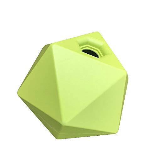 netproshop Leckerli Cube Spielball Beschäftigung und Belohnung Auswahl, Farbe:Gruen -