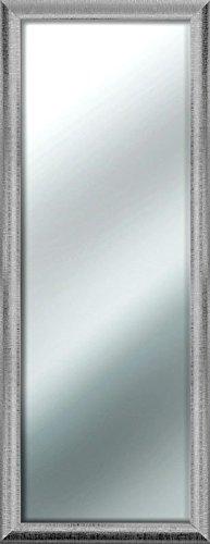 Specchio Da Parete Mirror Sharon 50x130 Cm Silver