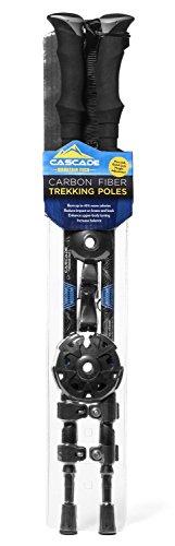 Cascade Mountain Tech in fibra di carbonio, per Quick Lock, bastoni da Trekking