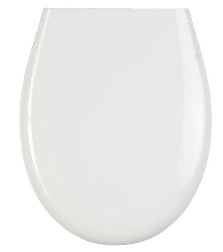Sedile wc con chiusura ammortizzata | superficie di alta qualità | montaggio facile | cerniere robuste | termoindurente