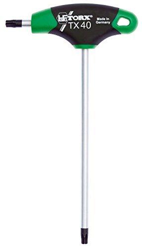 TORX® 70556 Schraubendreher T40 2K mit T-Griff | Made in Germany | Torxschlüsselsatz | Schraubenschlüssel | TX | für Torx Schrauben